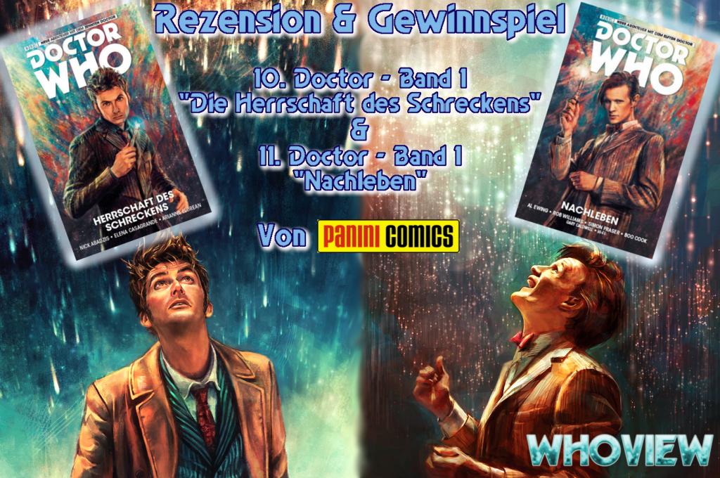 10. & 11. Doktor Panini Comics Doctor Who