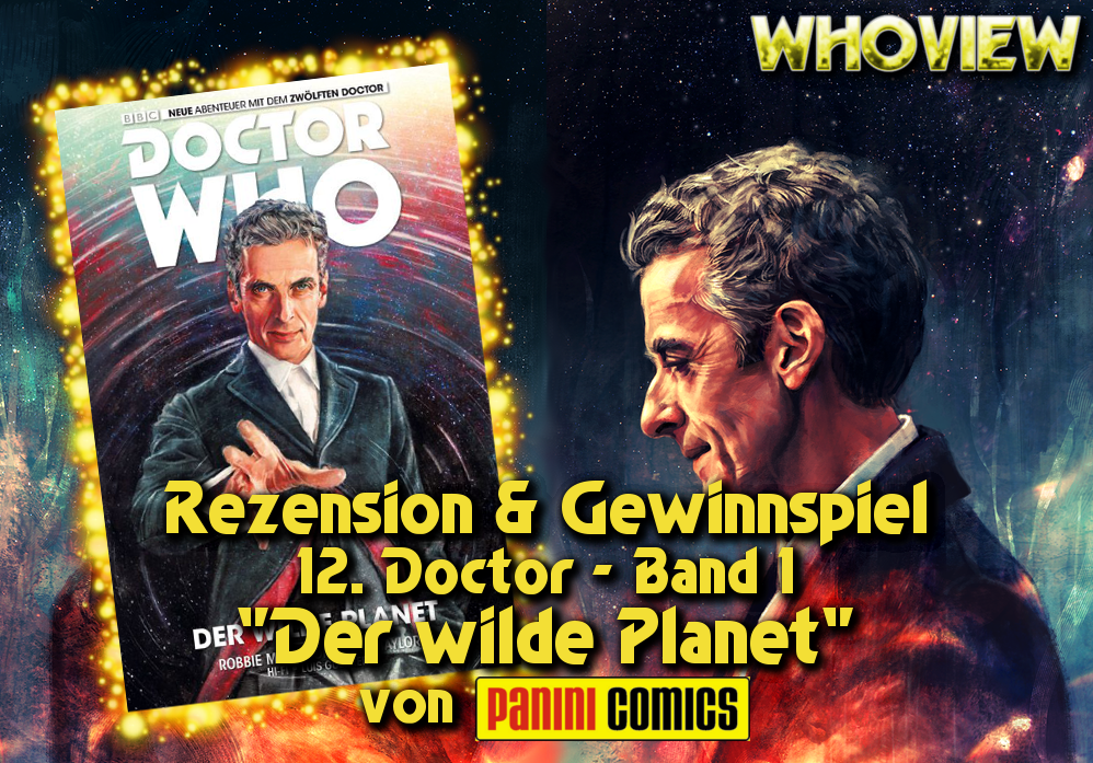 12. Doctor Who Comic der wilde Planet Panini