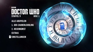 Staffel 9 Doctor Who Menü Hauptmenü