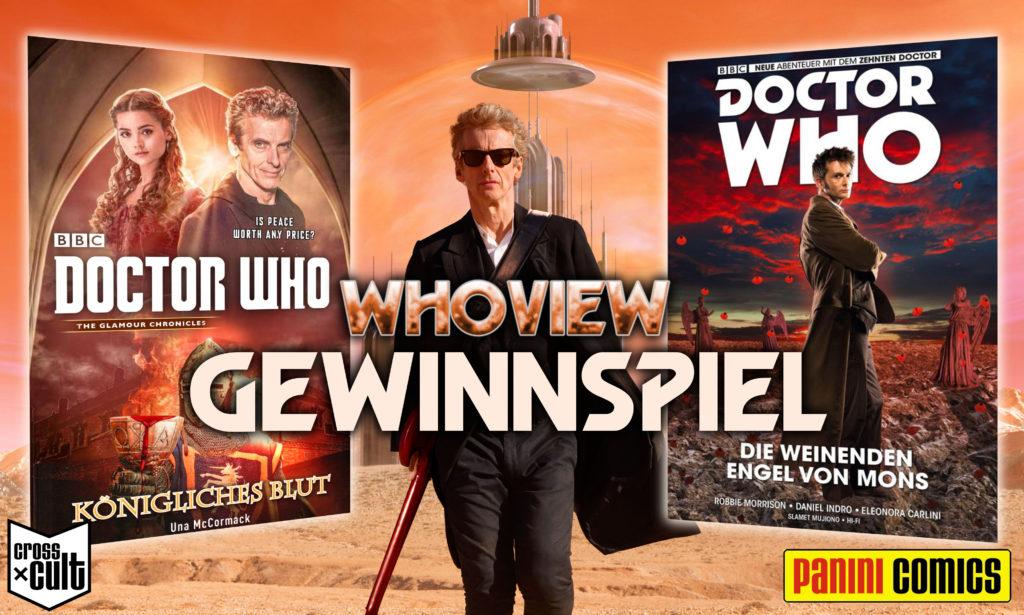Whoview Gewinnspiel Doctor Who Die weinenden Engel von Mons Königliches Blut Panini Comics Cross Cult