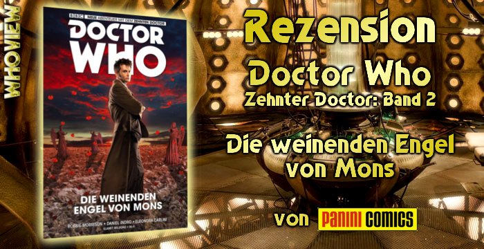 Doctor Who die weinenden Engel von Mons Panini Comics deutsch Rezension