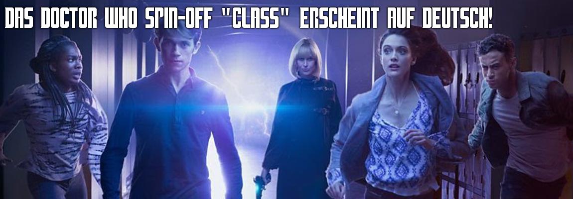 """Das Doctor Who Spin-Off """"Class"""" kommt auf deutsch"""