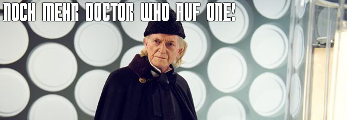 Noch mehr Doctor Who auf ONE
