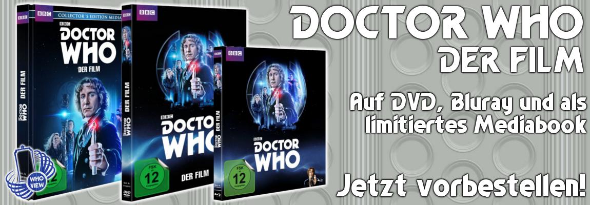Doctor Who – Der Film: Jetzt vorbestellen!
