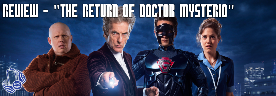 Review – Weihnachtsspecial 2016 – The Return of Doctor Mysterio