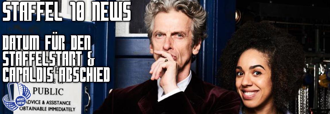 Datum für Staffel 10 & Peter Capaldis Abschied!