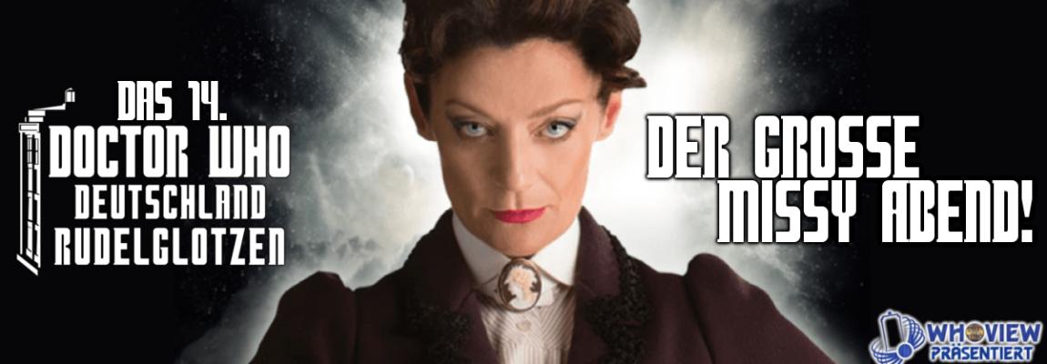Termin für das 14. Doctor Who Deutschland Rudelglotzen – Der große Missy Abend!