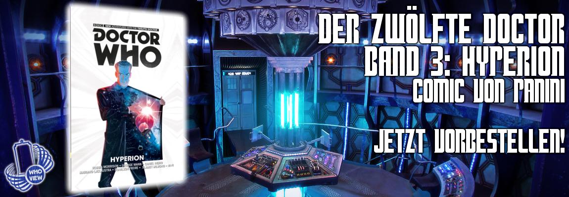 Der zwölfte Doctor – Band 3: Hyperion – Jetzt vorbestellen!