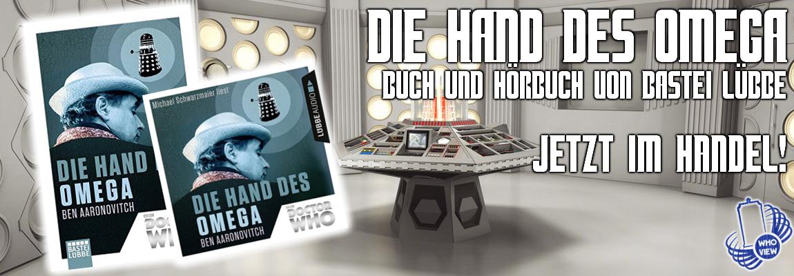 Die Hand des Omega – Buch & Hörbuch – Jetzt im Handel!