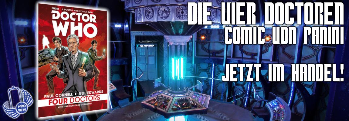 Die vier Doctoren – Comic – Jetzt im Handel!