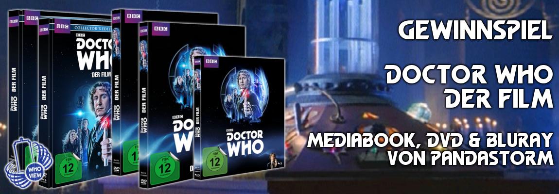 Gewinnspiel | Doctor Who – Der Film | Mediabook, DVD & Bluray von Pandastorm