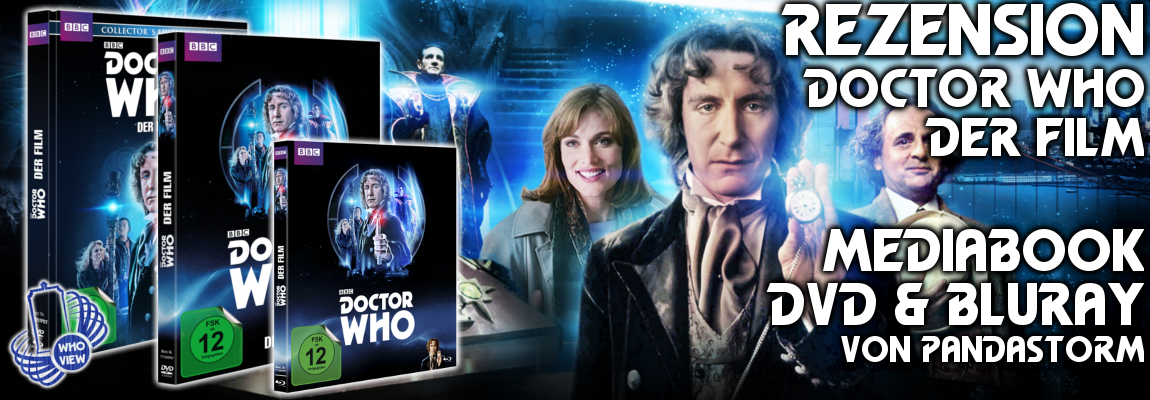 Rezension: Doctor Who – Der Film | Mediabook | DVD & Bluray | Von Pandastorm