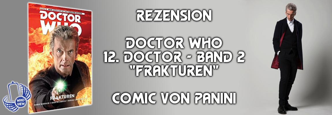 Rezension: Doctor Who – Zwölfter Doctor – Band 2: Frakturen | Comic von Panini