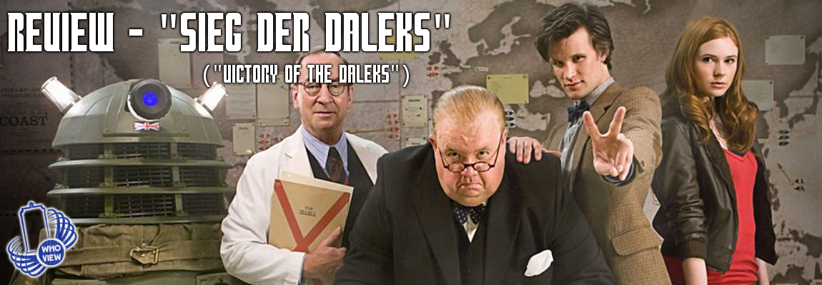 Review – 5×03 – Sieg der Dalek (Victory of the Daleks)