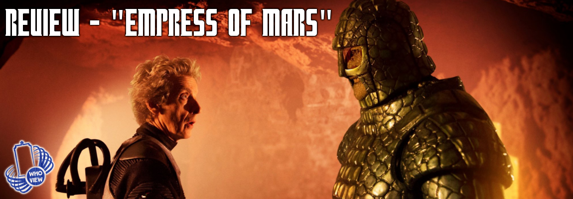 Review – 10×09 – Empress of Mars