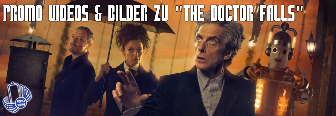 """The Doctor Falls"" Promo Videos & Bilder"