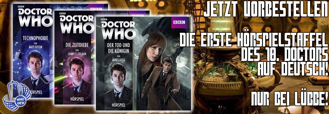 Jetzt Vorbestellen: Doctor Who – Die erste Hörspielstaffel des 10. Doctors!