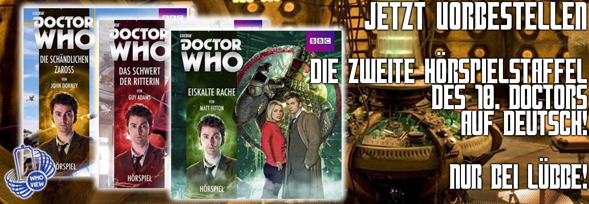 Jetzt Vorbestellen: Doctor Who – Die zweite Hörspielstaffel des 10. Doctors!