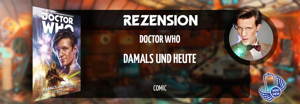Rezension | Doctor Who: Der elfte Doctor – Damals und Heute | Comic