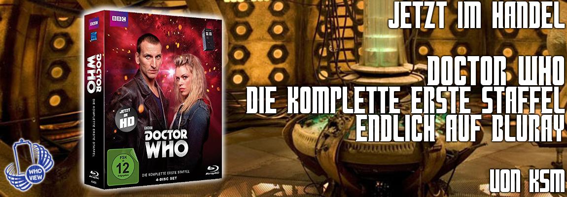 Jetzt im Handel: Doctor Who – Die komplette erste Staffel | Blu-ray von KSM