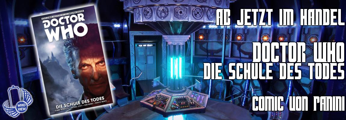 Jetzt im Handel: Doctor Who – Die Schule des Todes | Comic | von Panini