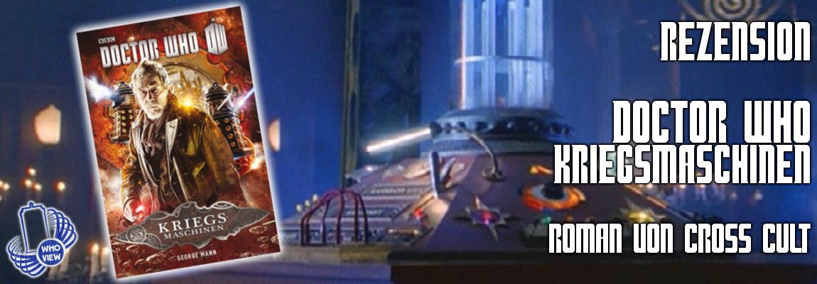 Rezension: Doctor Who – Kriegsmaschinen | Roman | von Cross Cult
