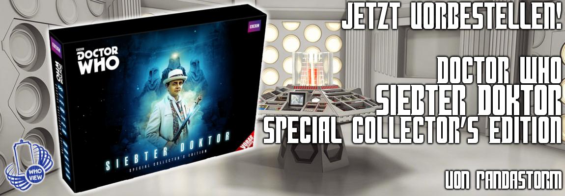 Jetzt vorbestellen: Doctor Who – Siebter Doktor | Special Collector's Edition | von Pandastorm
