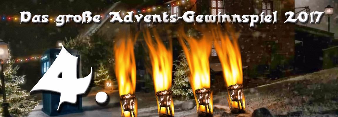 Advent, Advent, die vierte Kerze brennt!