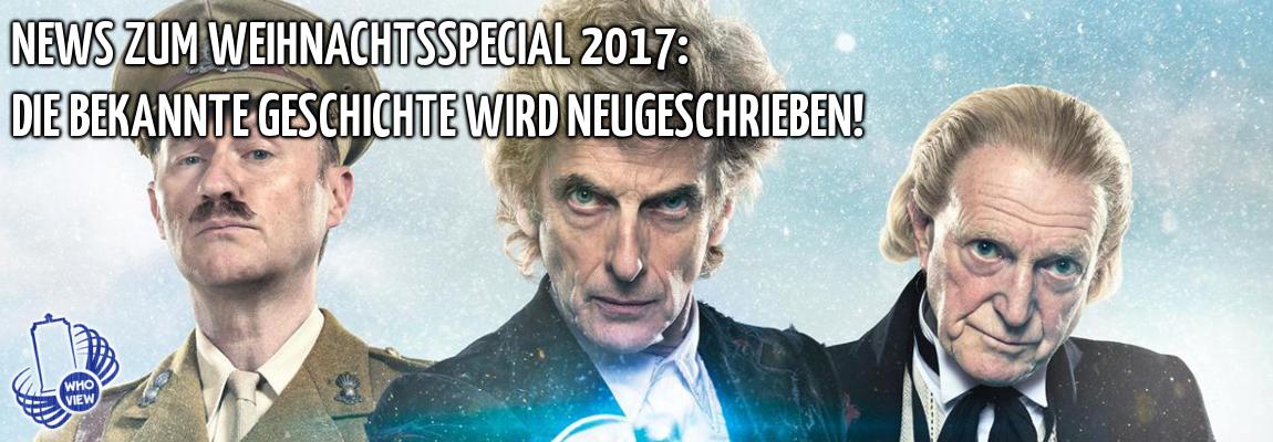 News zum Weihnachtsspecial 2017: Die bekannte Geschichte wird neugeschrieben!