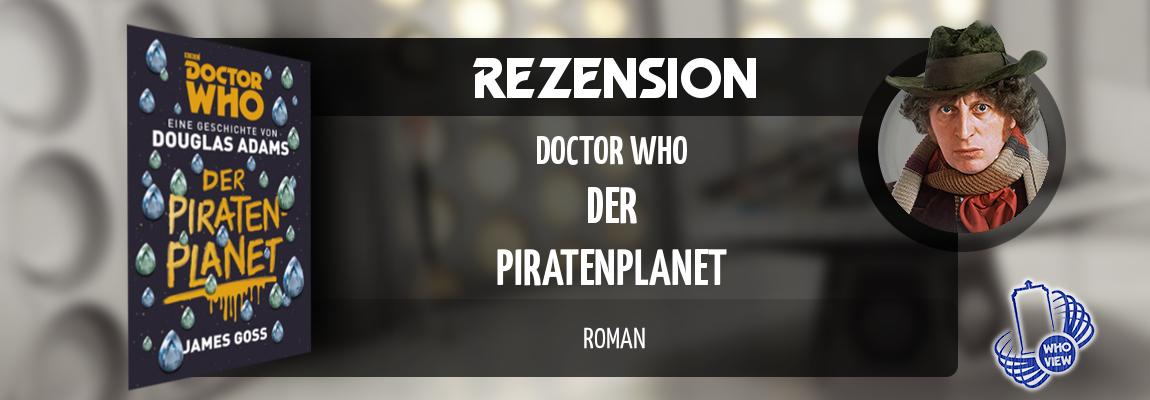 Rezension | Doctor Who – Der Piratenplanet | Buch
