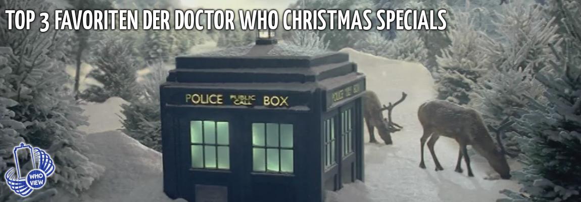 Top 3 Favoriten der Doctor Who Christmas Specials