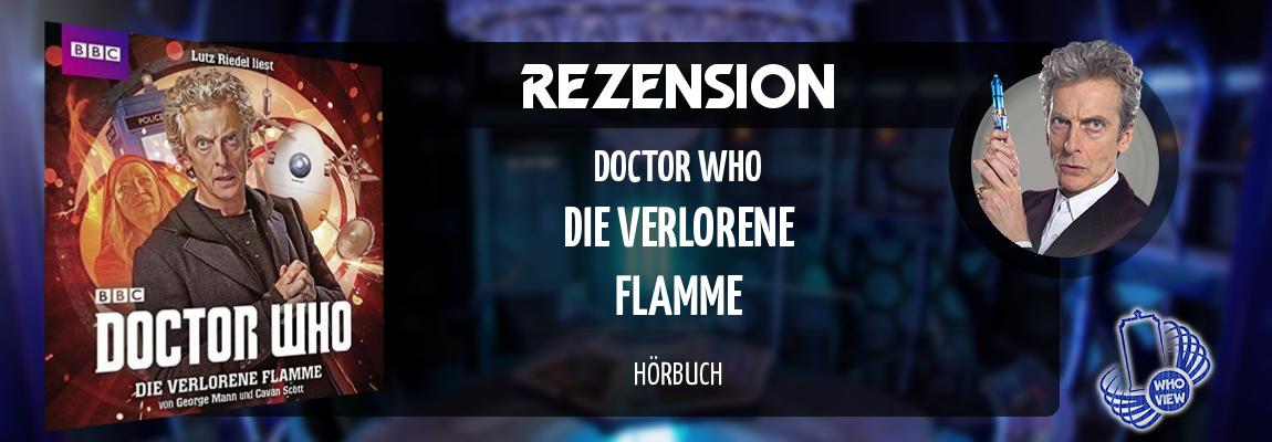 Rezension | Doctor Who – Die verlorene Flamme | Hörbuch