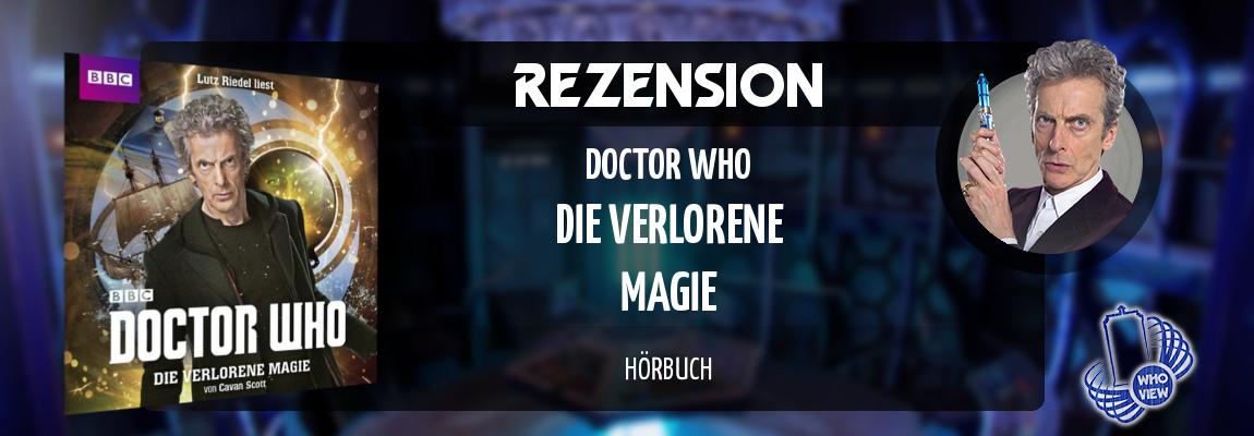 Rezension | Doctor Who – Die verlorene Magie | Hörbuch
