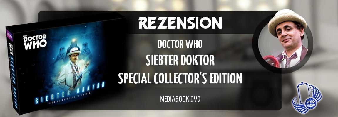 Rezension | Doctor Who – Siebter Doktor: Special Collector's Edition | Mediabook DVD