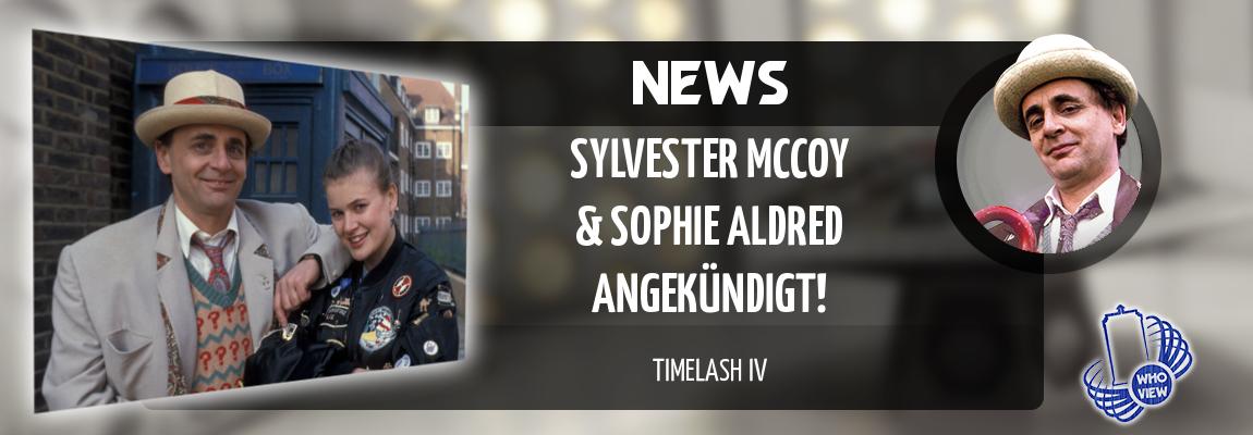 News | TimeLash IV – Sylvester McCoy und Sophie Aldred angekündigt!