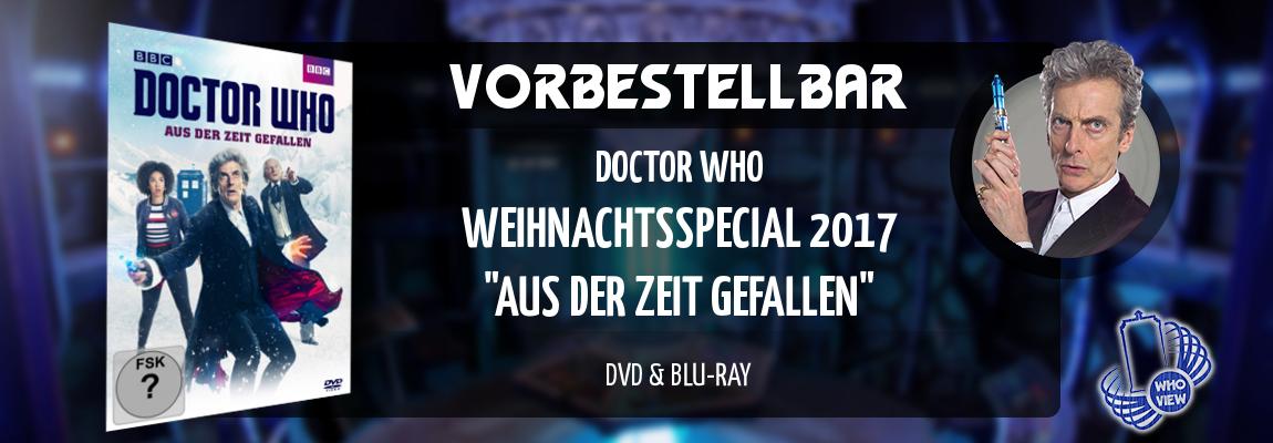Vorbestellbar | Doctor Who – Aus der Zeit gefallen (Weihnachtsspecial 2017) | DVD & Blu-ray