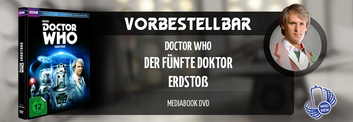 Vorbestellbar | Doctor Who – Fünfter Doktor: Erdstoß | Mediabook