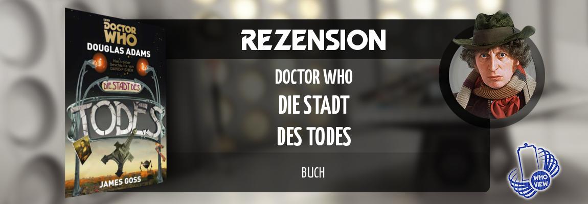 Rezension | Doctor Who – Die Stadt des Todes | Buch
