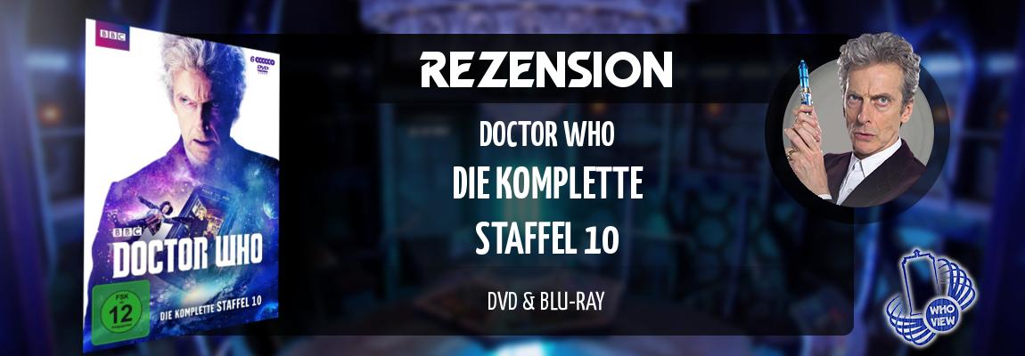 Rezension | Doctor Who – Die komplette Staffel 10 | DVD & Blu-ray