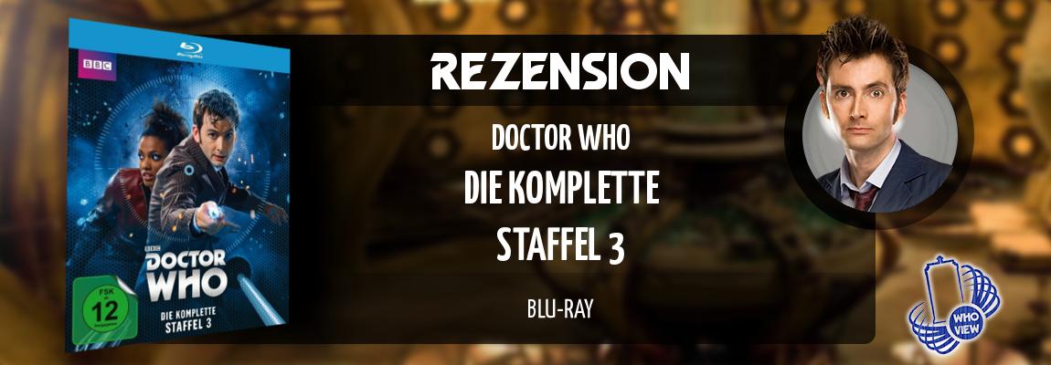 Rezension | Doctor Who – Die komplette Staffel 3 | Blu-ray