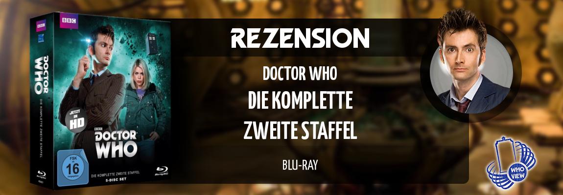 Rezension | Doctor Who – Die komplette zweite Staffel | Blu-ray