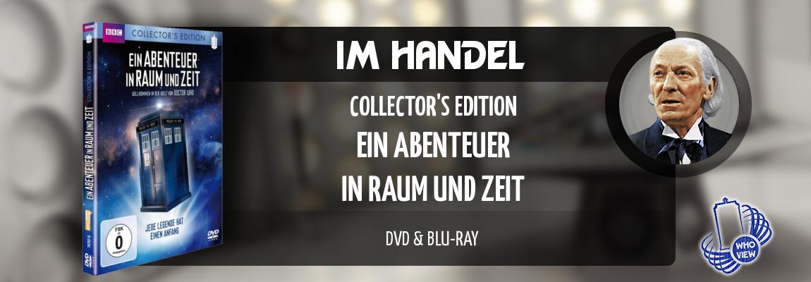 Im Handel | Ein Abenteuer in Raum und Zeit – Collector's Edition | DVD & Bluray