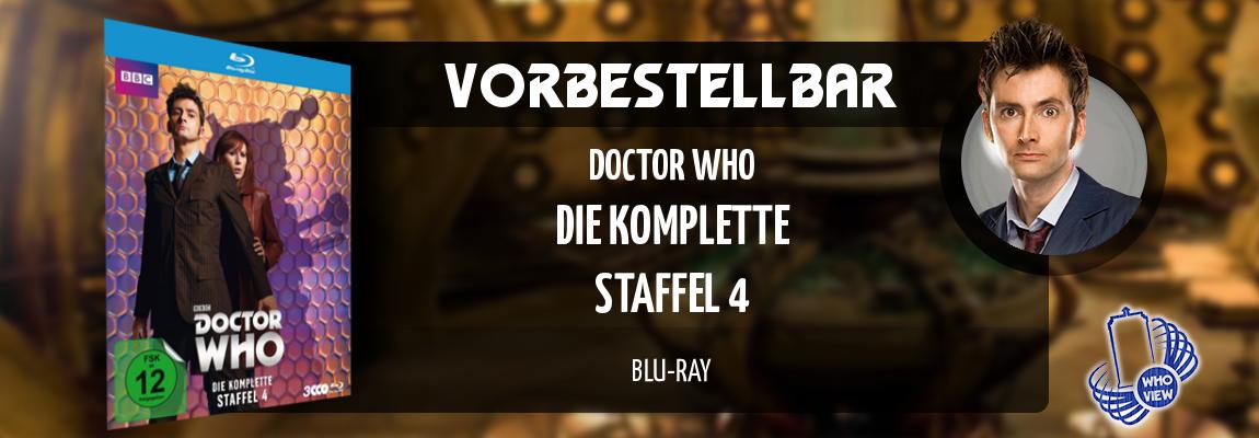 Vorbestellbar | Doctor Who – Die komplette Staffel 4 | Blu-ray