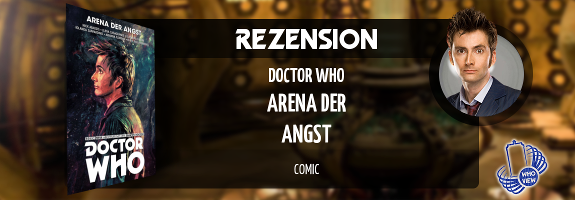 Rezension | Doctor Who: Der zehnte Doctor – Arena der Angst | Comic