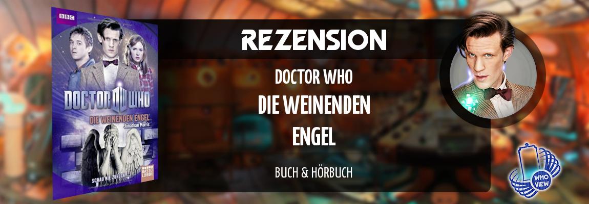 Rezension | Doctor Who – Die weinenden Engel | Buch & Hörbuch
