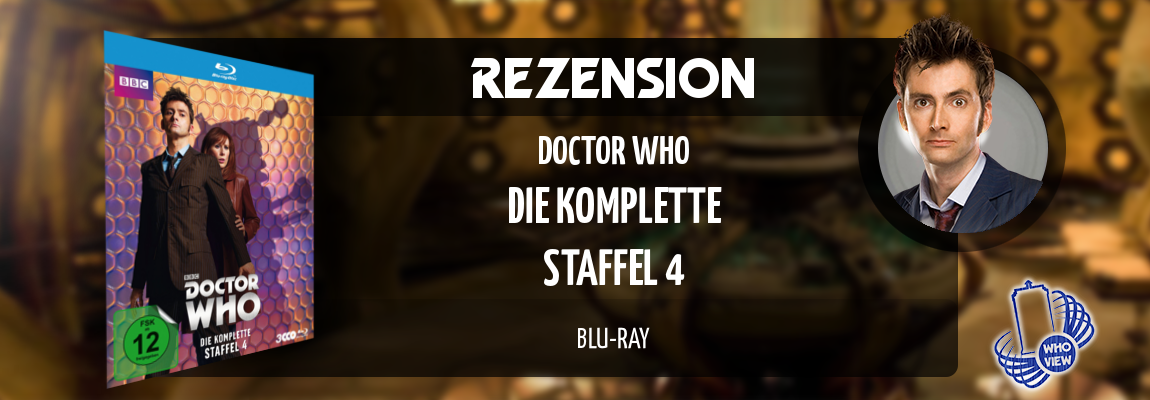 Rezension | Doctor Who – Die komplette Staffel 4 | Blu-ray