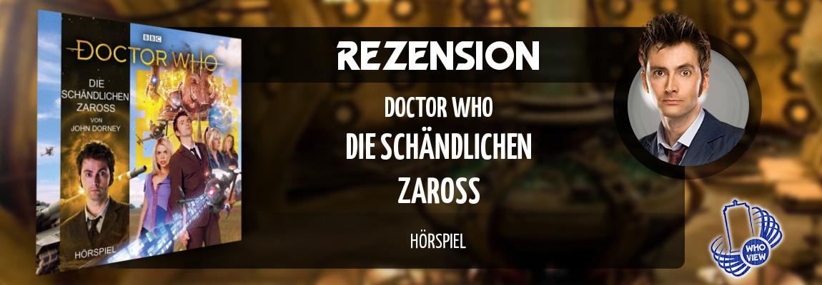 Rezension   Doctor Who – Die schändlichen Zaross   Hörspiel