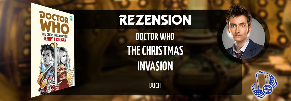 Rezension | Doctor Who – The Christmas Invasion | Buch