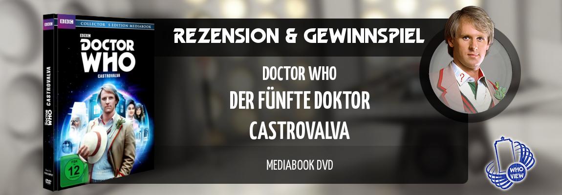 Rezension & Gewinnspiel | Doctor Who – Castrovalva | Mediabook DVD