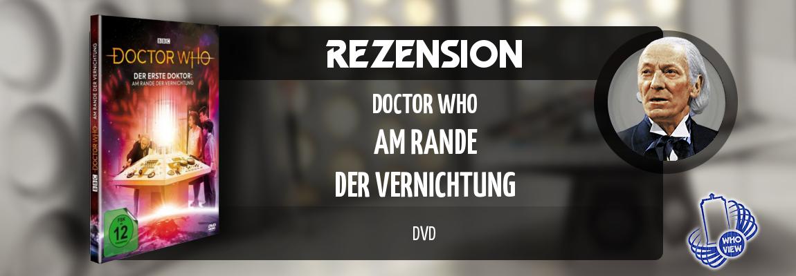 Rezension | Doctor Who – Am Rande der Vernichtung | DVD